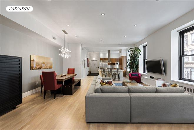 60 East 13th Street, 3rd Floor, Living Room