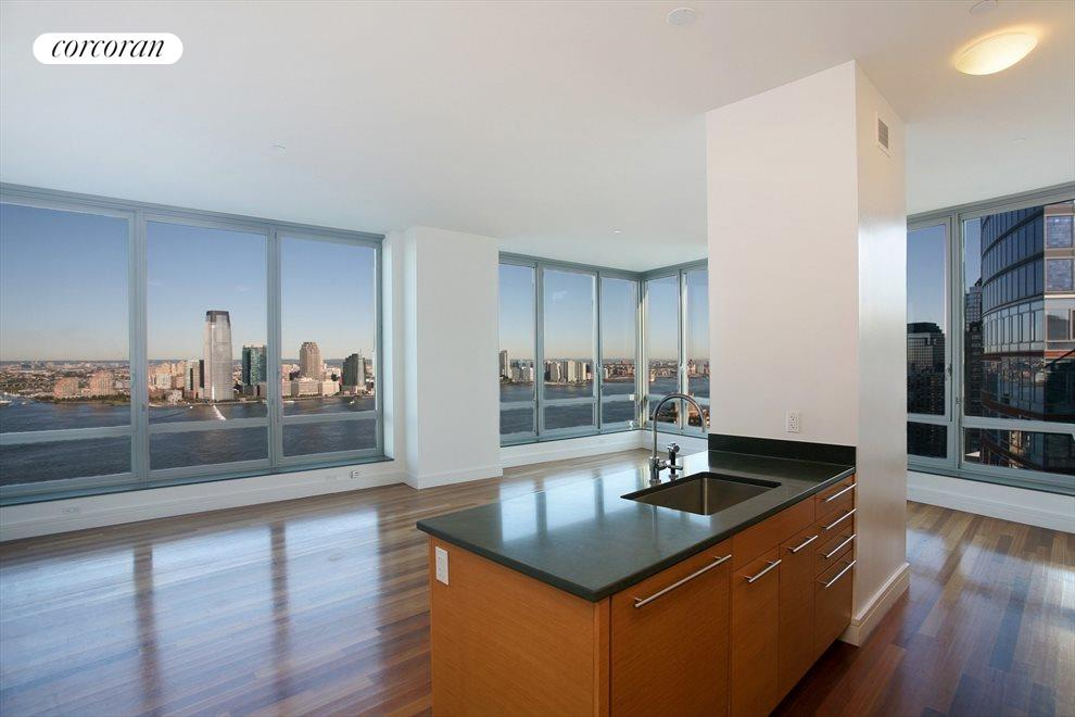 PH1A - Living Room with Hudson RIver Views