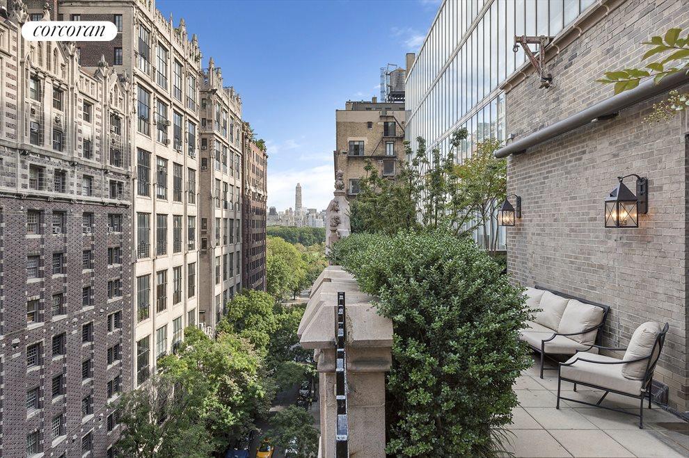 Private Terrace / Central Park Views