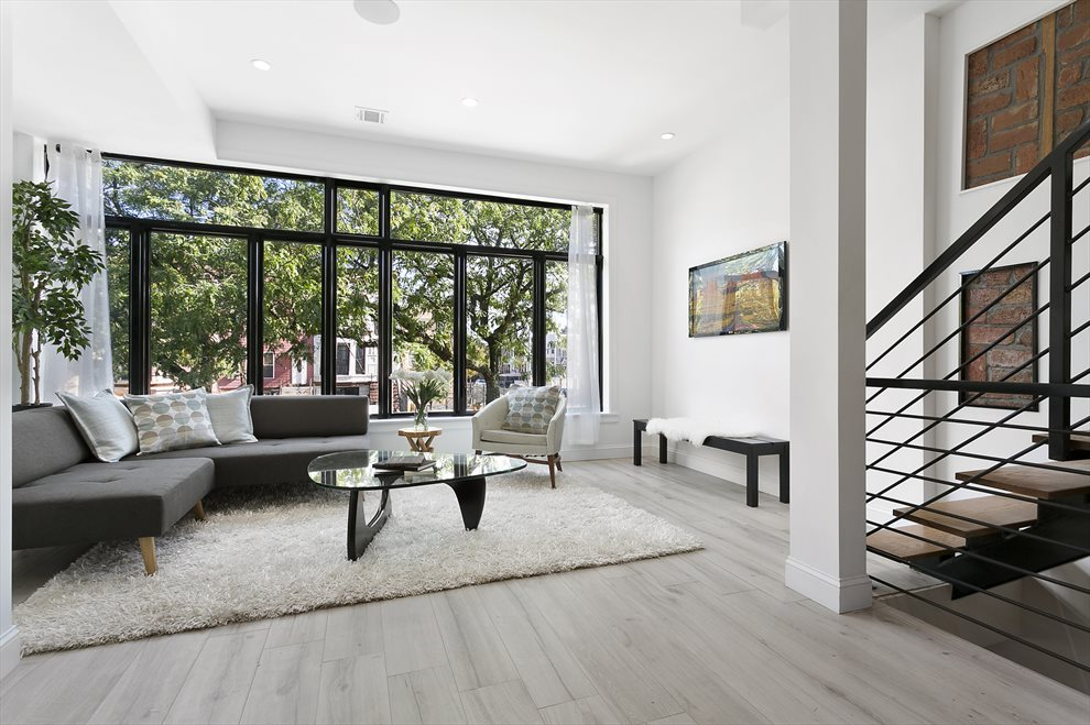 Gorgeous Windows Brighten Living Room