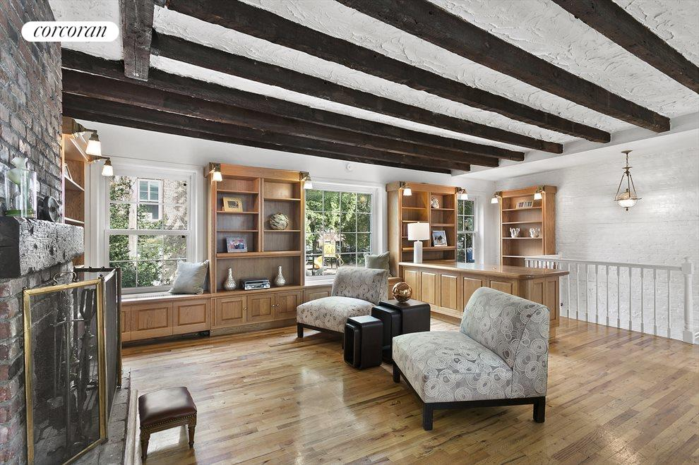 Spacious Living Room Overlooks Cobble Hill Park