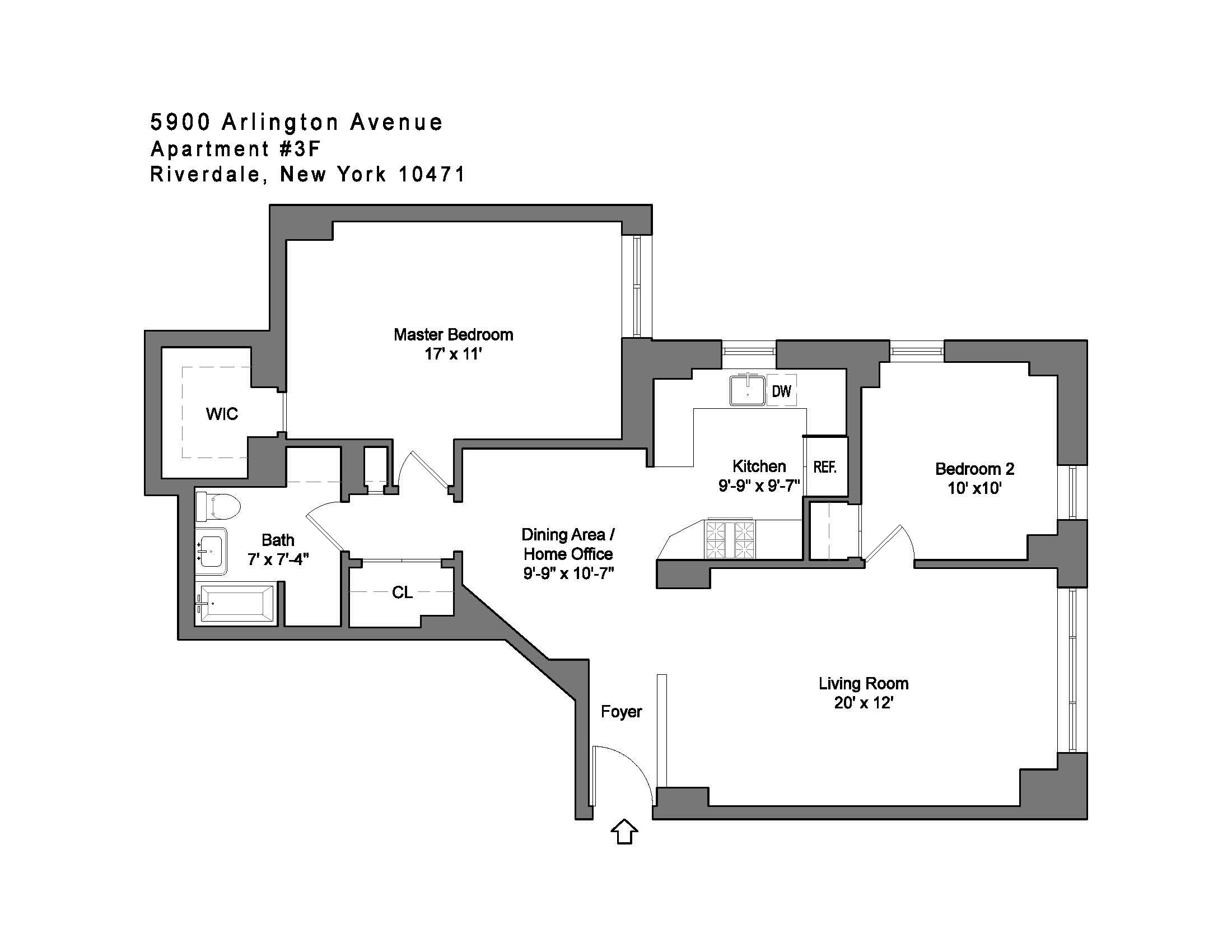 Corcoran 5900 Arlington Avenue Apt 3f Riverdale Real