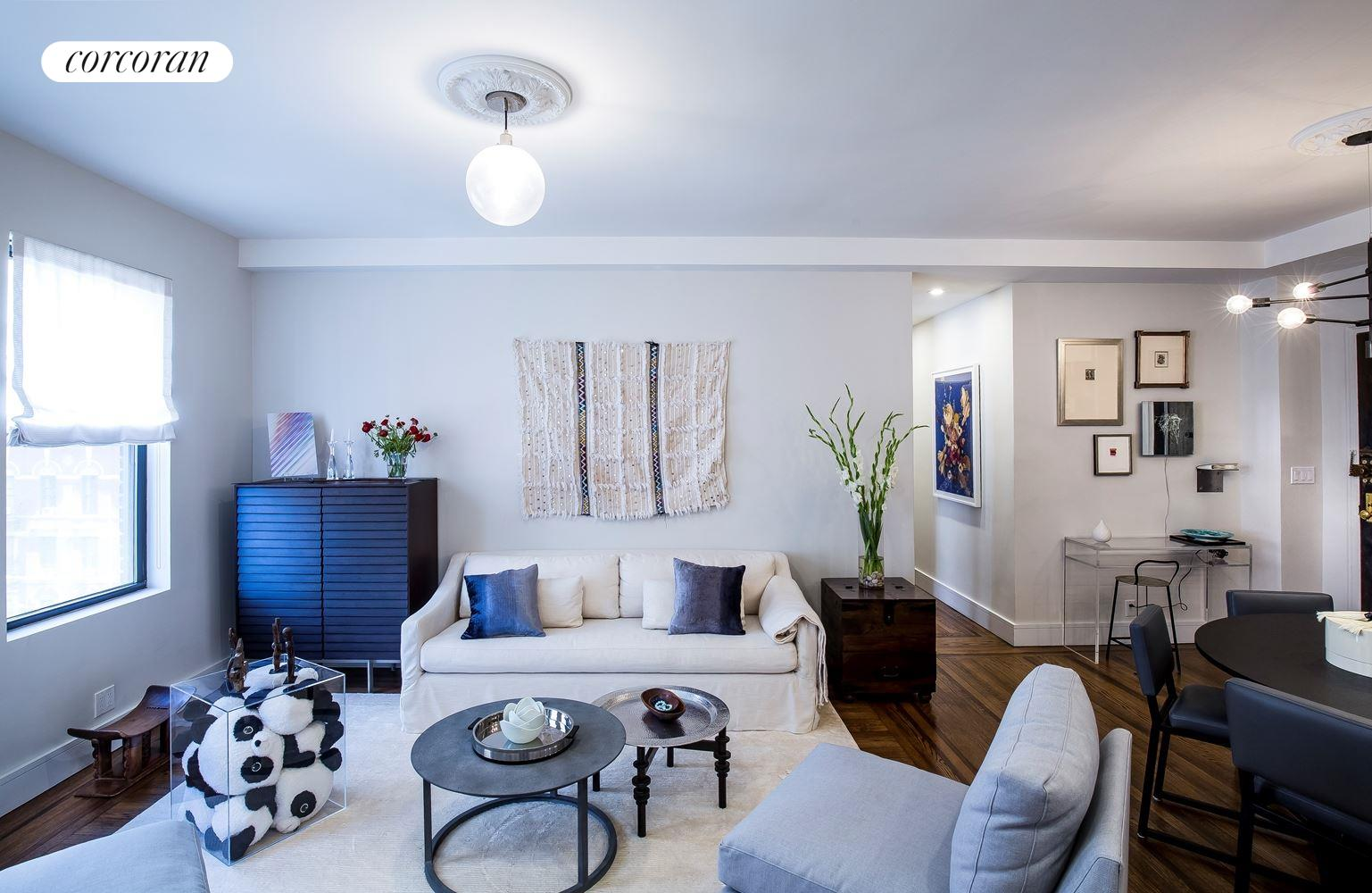 150 East 93rd Street, 7A, Living Room