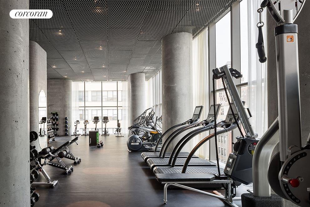 Fitness Area with Private Terrace