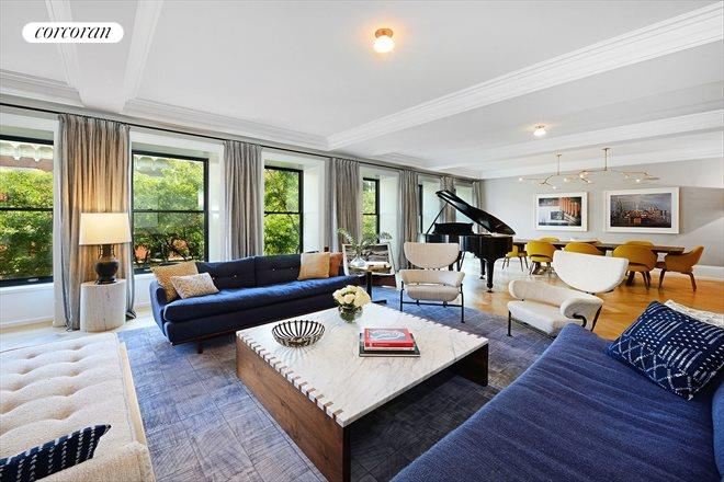 182 West 82nd Street, 4W, Living Room