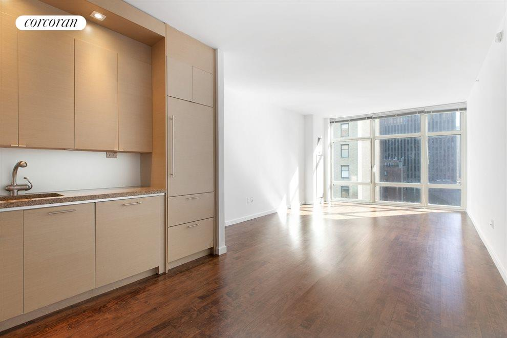 New York City Real Estate | View 1600 Broadway, #14G | Living Room