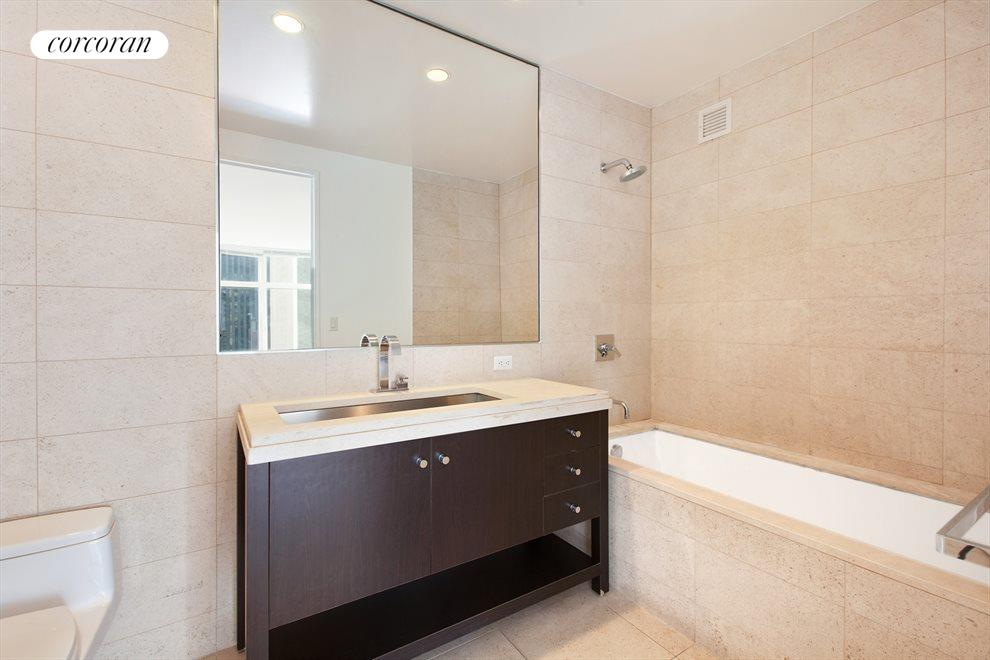 New York City Real Estate | View 1600 Broadway, #14G | Master Bathroom