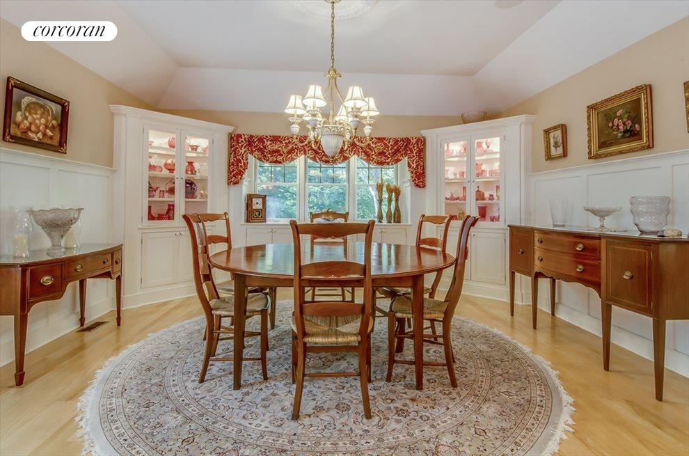 Formal dining room opens to the kitchen and second living room
