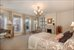 24 Horatio Street, PH, Master Bedroom with Fireplace