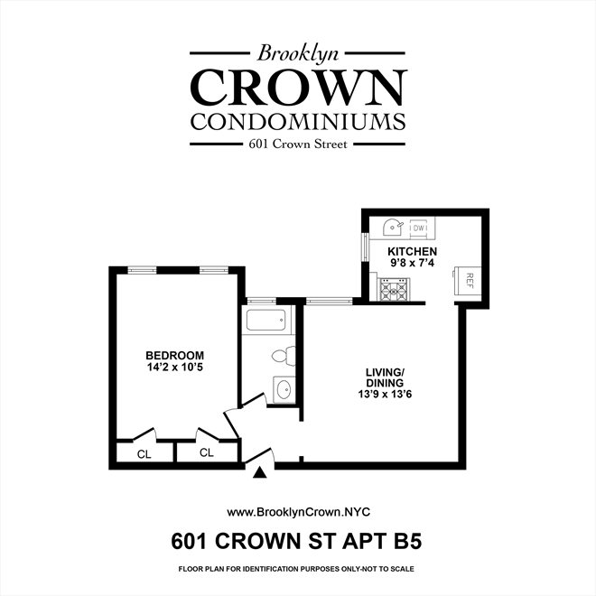 New York City Real Estate | View 601 Crown Street, #B5 | Floorplan