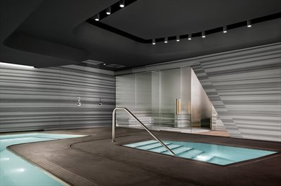 New York City Real Estate | View 520 West 28th Street, #PH39 | PRIVATE SPA SUITE STEAM, SAUNA, HOT TUB