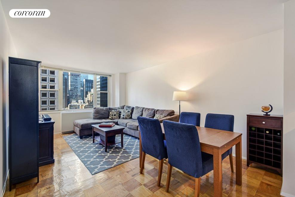 New York City Real Estate | View 245 East 54th Street, #21B | 1 Bed, 1 Bath
