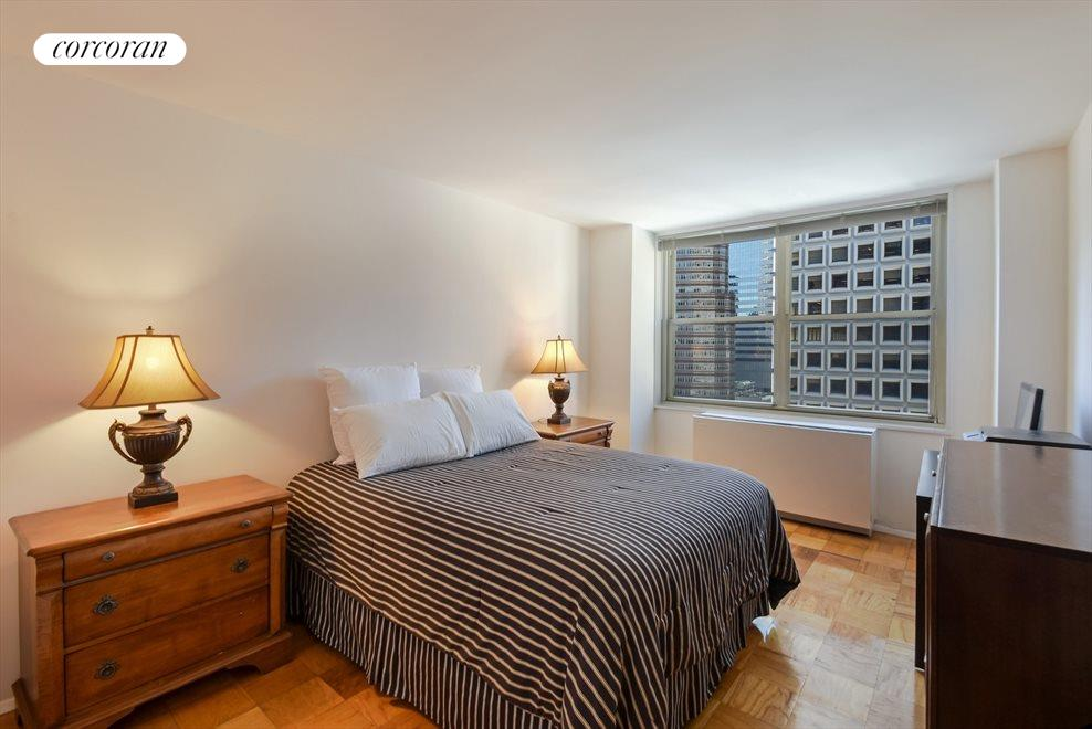 New York City Real Estate | View 245 East 54th Street, #21B | Large Bedroom, Big Enough for King-Sized Bed