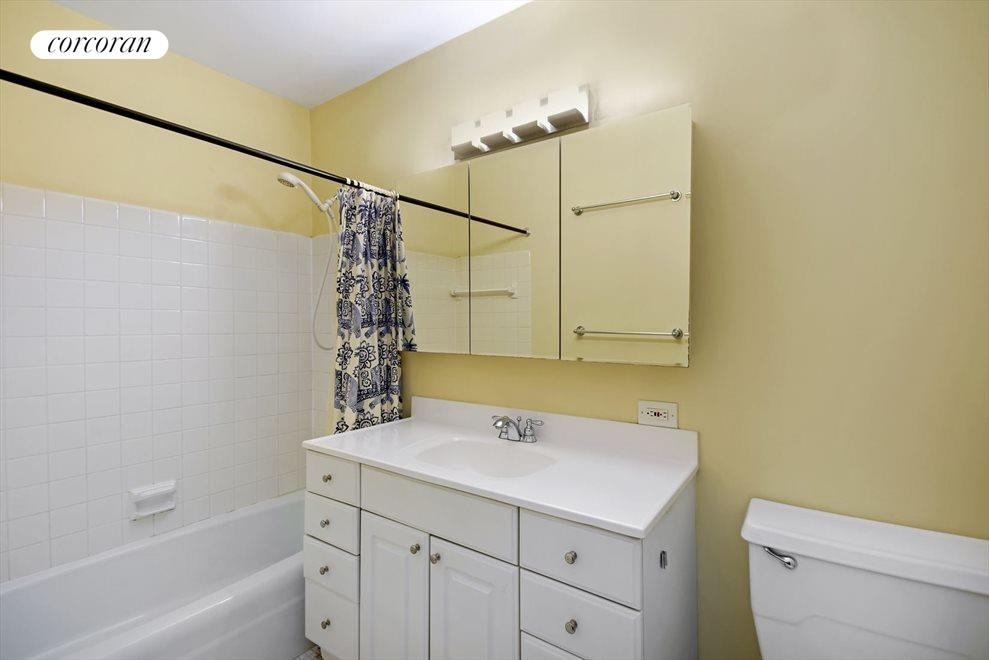 New York City Real Estate | View 245 East 54th Street, #21B | Modern, Renovated Bathroom