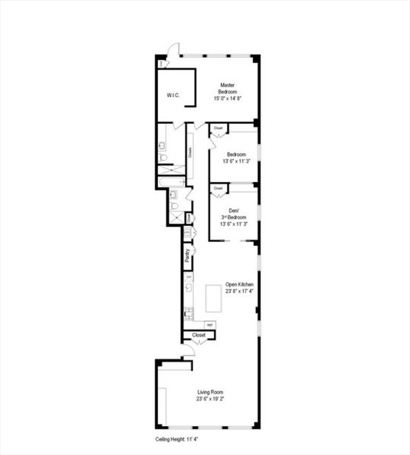 New York City Real Estate | View 28 West 38th Street, #6W | Floorplan