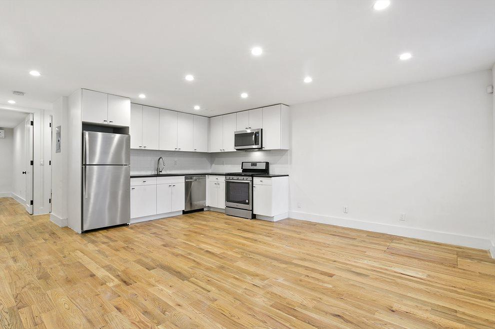 Garden Apartment Living & Kitchen