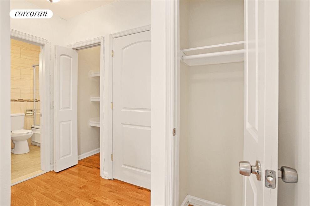 Entry/Foyer with Two Closets