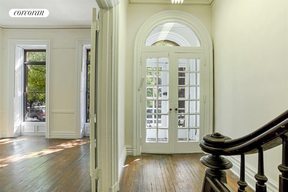Gracious foyer...