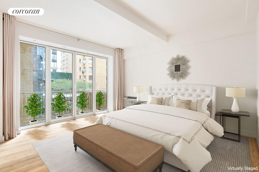 Private Master Bedroom with Balcony