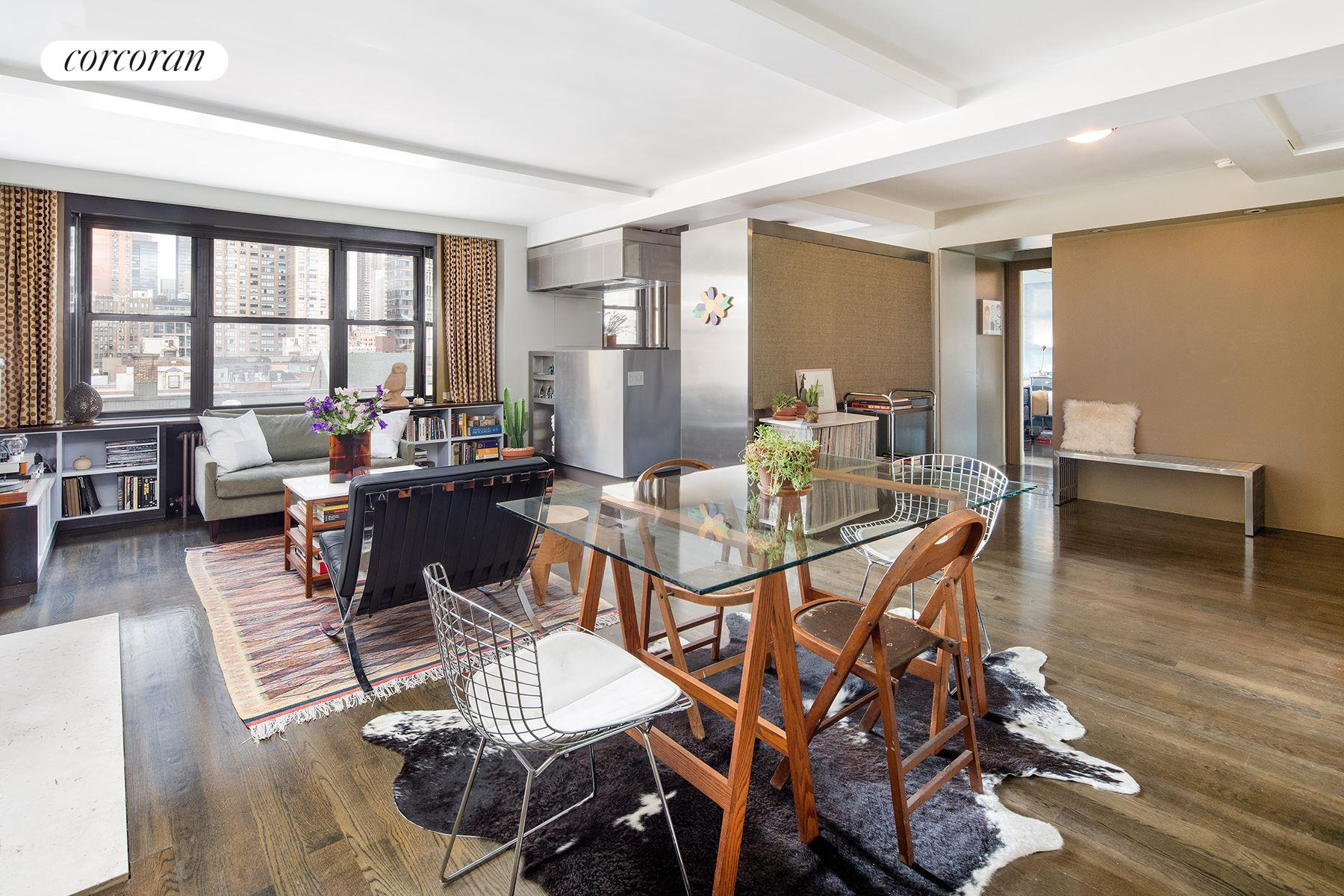 140 East 28th Street, 9F, Fireplace & Open City Views