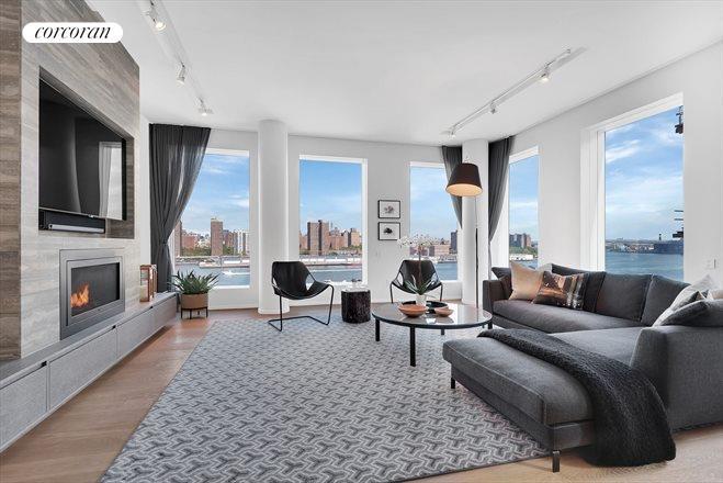 1 John Street, 9D, Living Room