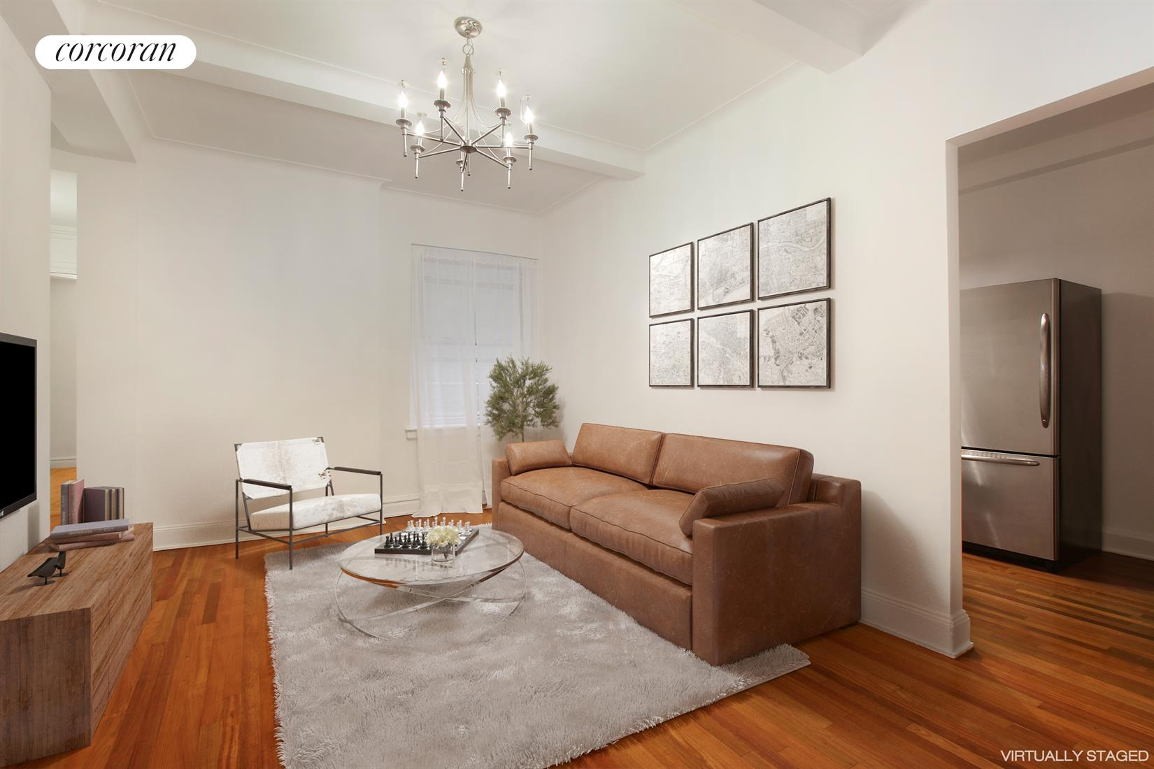 123 West 74th Street, 1A-1, Living Room