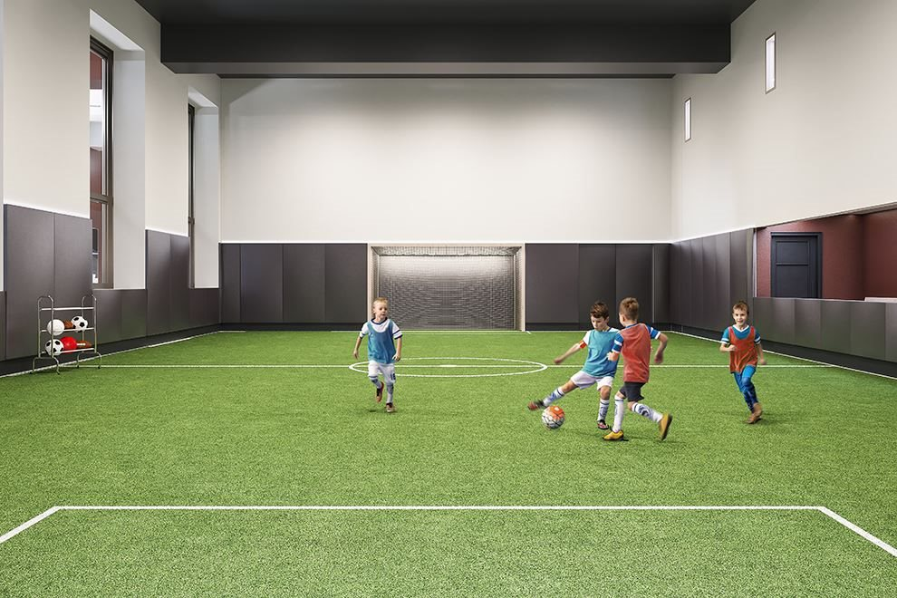 Waterline Square | 10 Riverside Blvd | Indoor Soccer Pitch