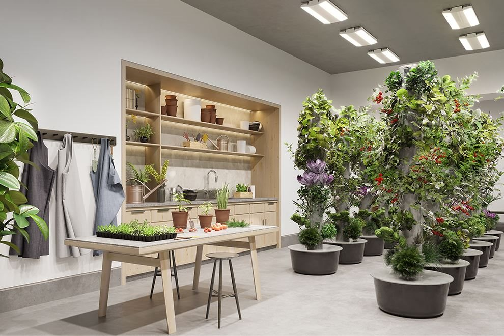 Waterline Square | 10 Riverside Blvd | Indoor Gardening Center