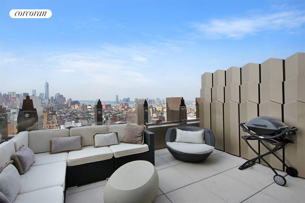 New York City Real Estate | View 212 West 18th Street, #PH5 | Terrace 2