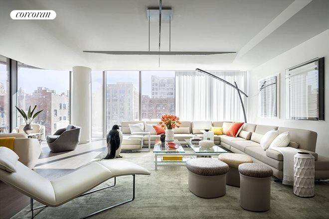 520 West 28th Street, 28, Living Room
