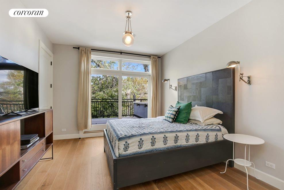 Master Bedroom with Tree Line Views