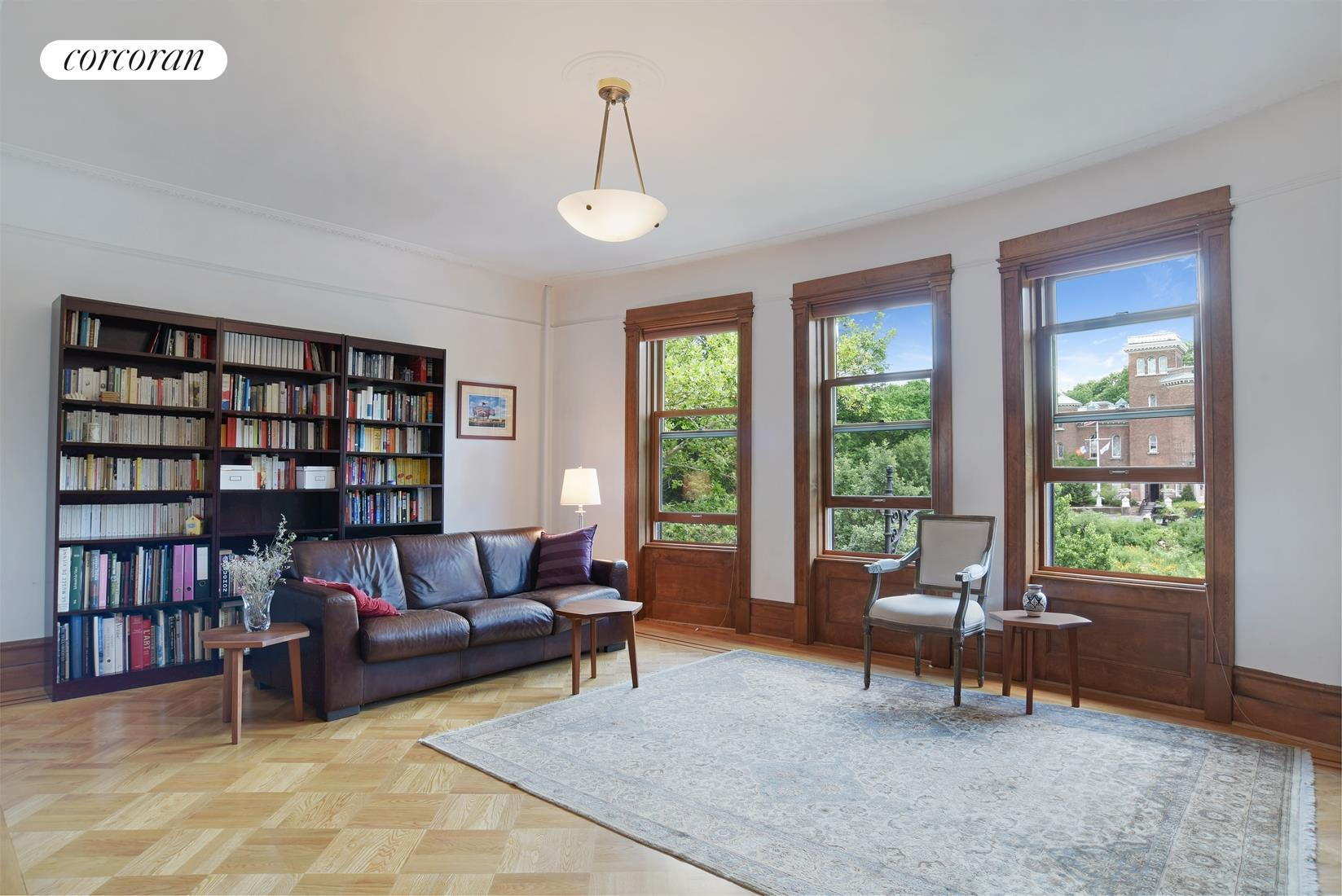 90 Prospect Park West, 3R, Professionally decked and landscaped outdoor space