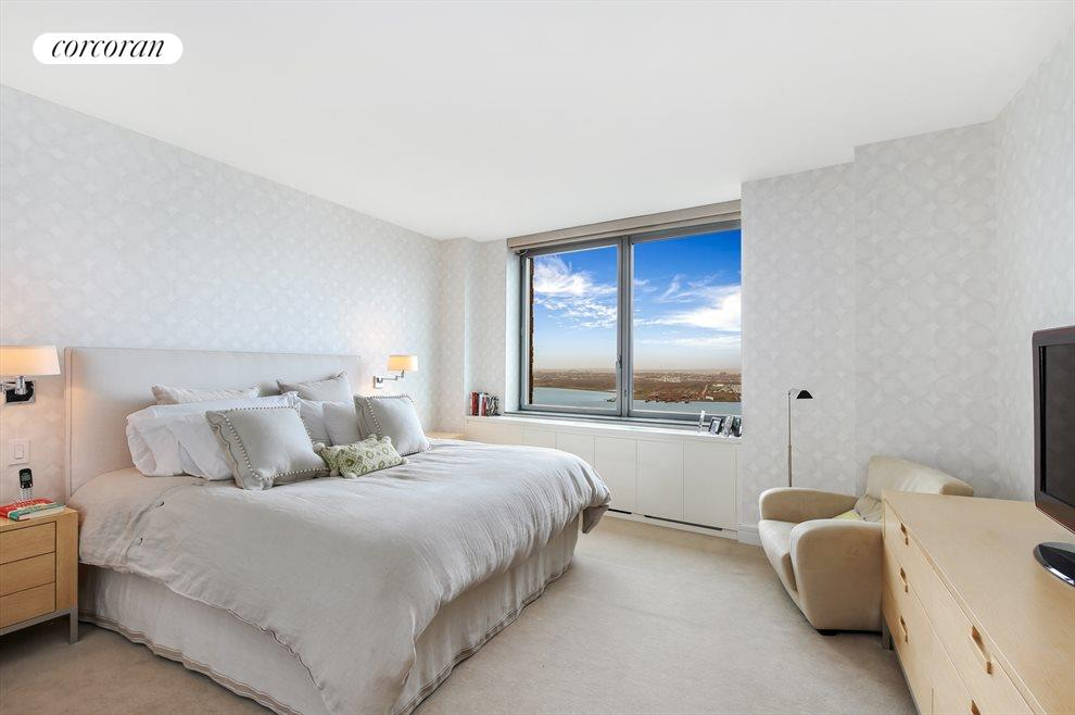 Master Bedroom with River Views
