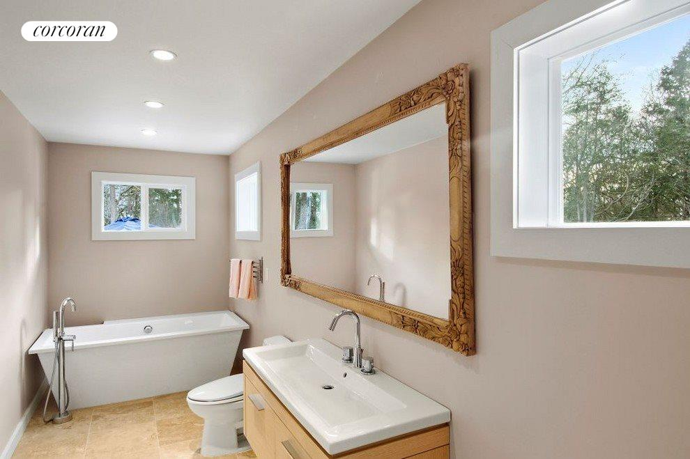 New York City Real Estate | View 17 Forest Road | Master Bathroom
