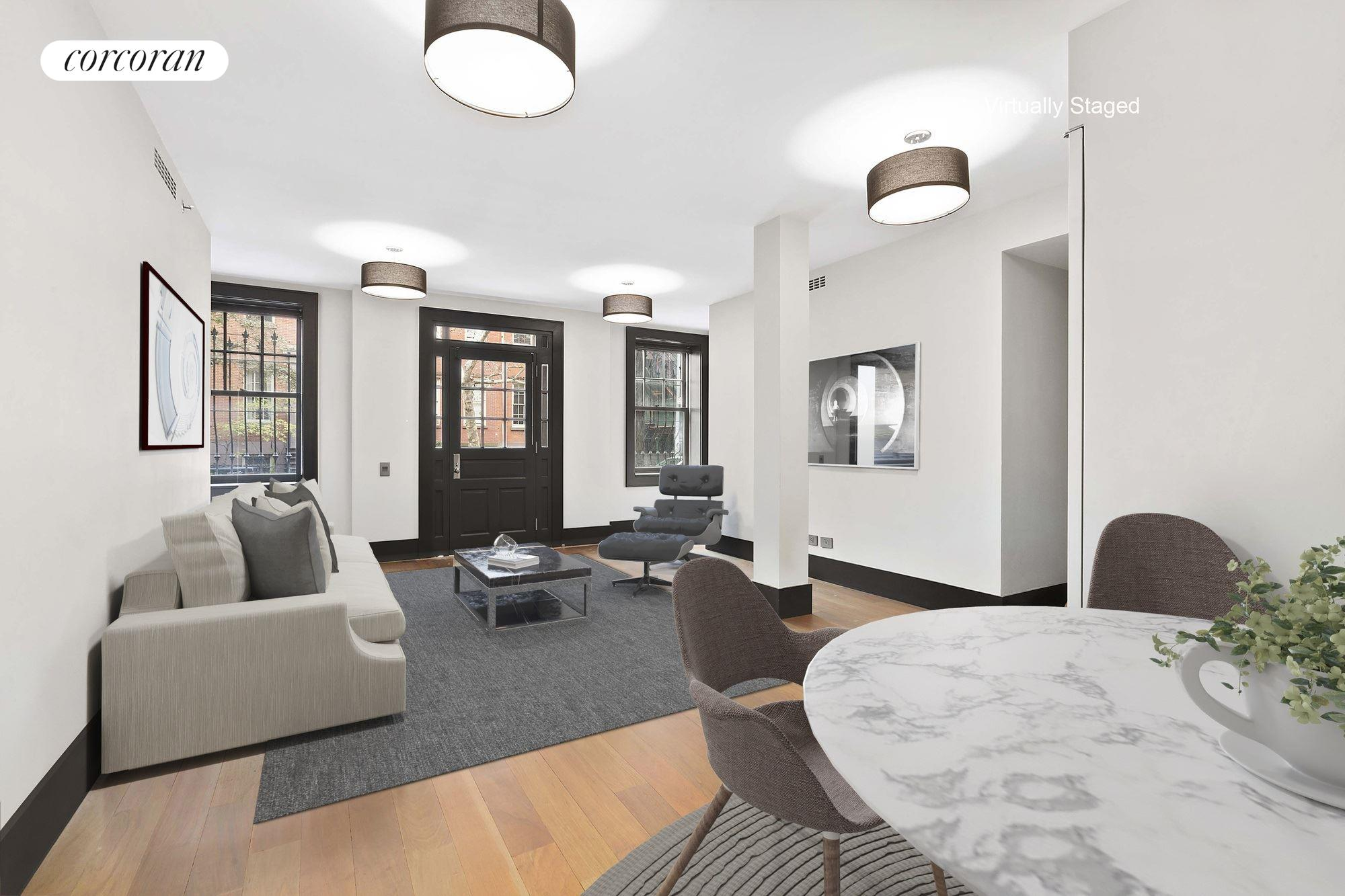 Corcoran, 327-329 West 22nd Street, Apt. 3, Chelsea/Hudson Yards ...