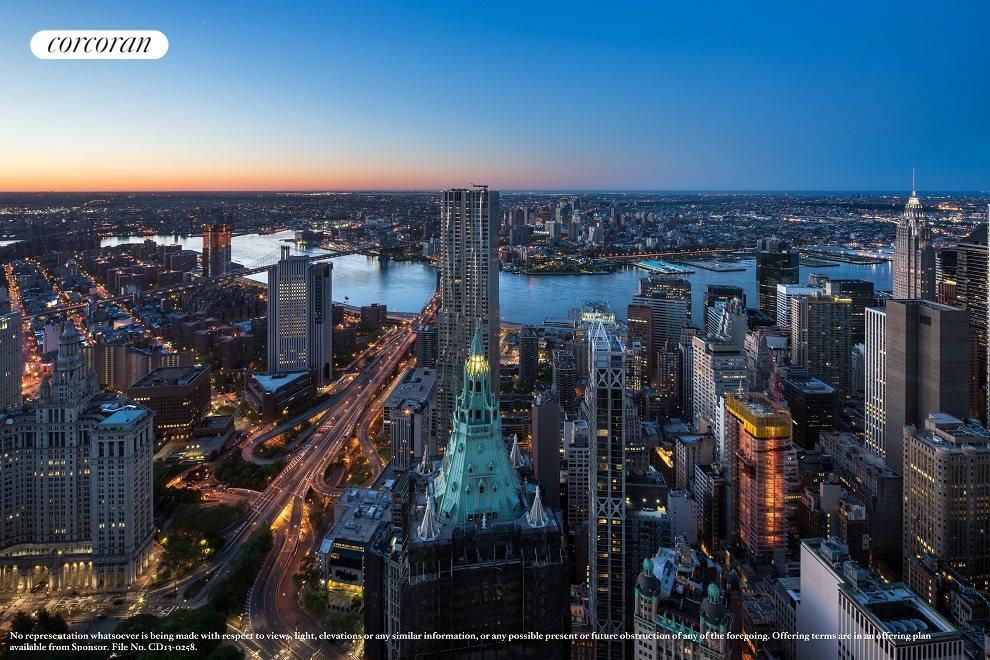 New York City Real Estate | View 30 PARK PLACE, #PH82 | East View