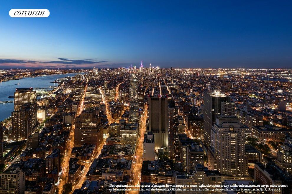 New York City Real Estate | View 30 PARK PLACE, #PH82 | North View