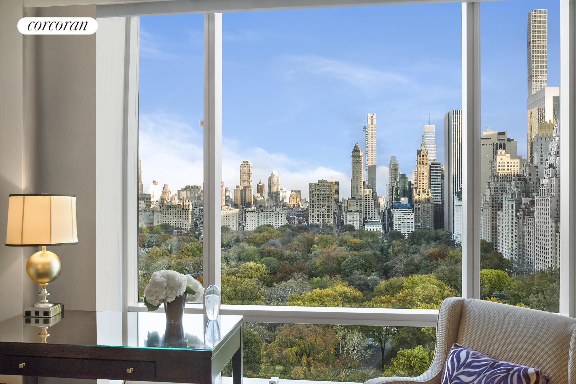 1 Central Park West 1706 Stunning Views From Your Living Room