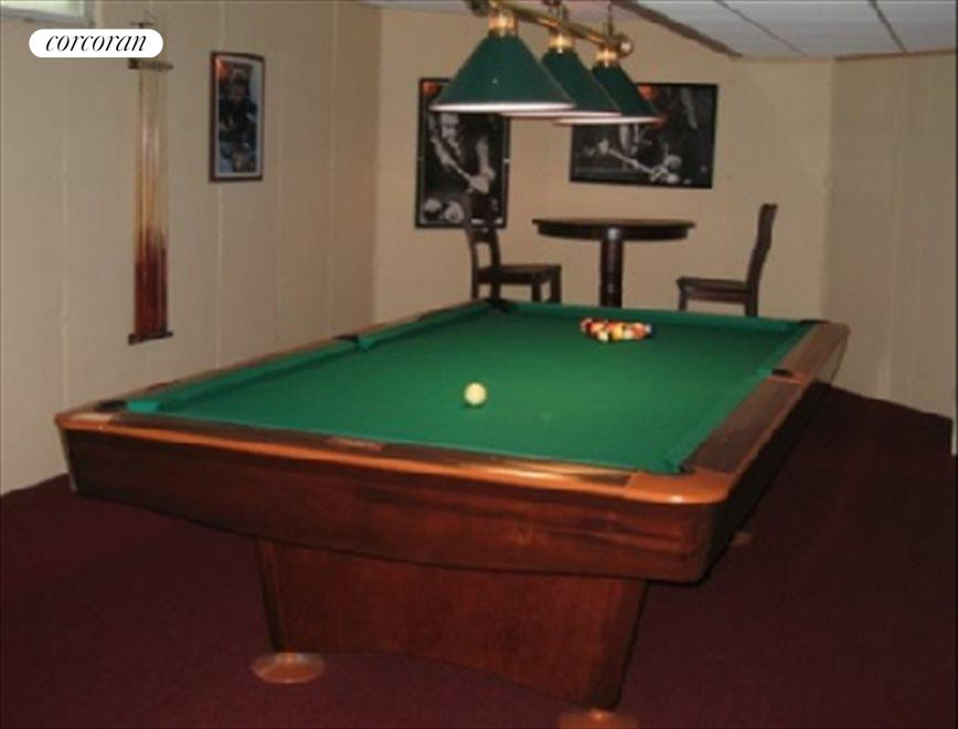 Lower level with wine cave & pool table
