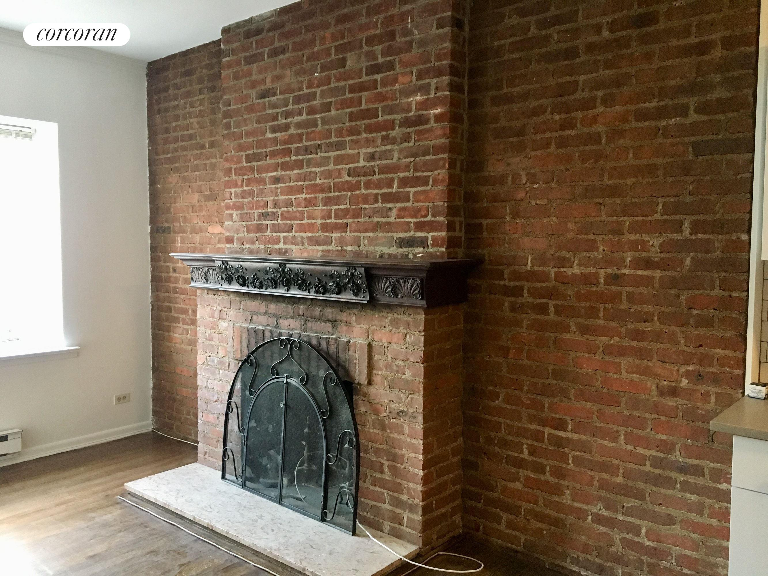 354 Central Park West, 5, Decorative Fireplace