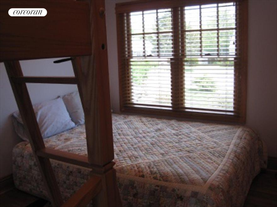 Bedroom with extra bunk beds