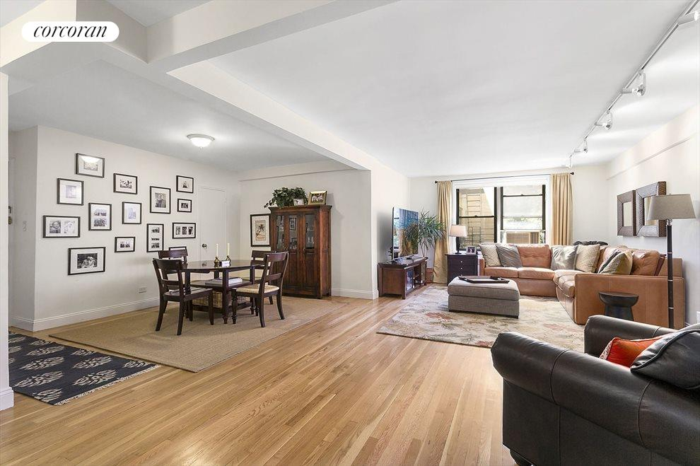 Huge Living Room with Dining Alcove
