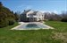 Bridgehampton, View from Back with Pool