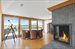 1116 Meadow Lane, Master Suite Sitting Room /Office Wtih Bayviews