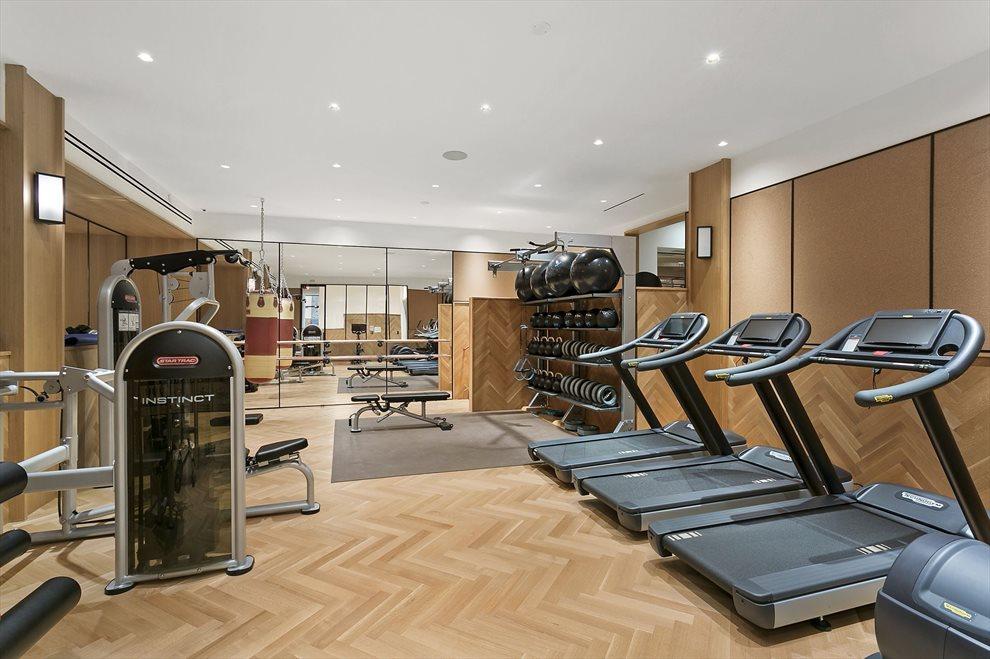 Stunning Fitness Area