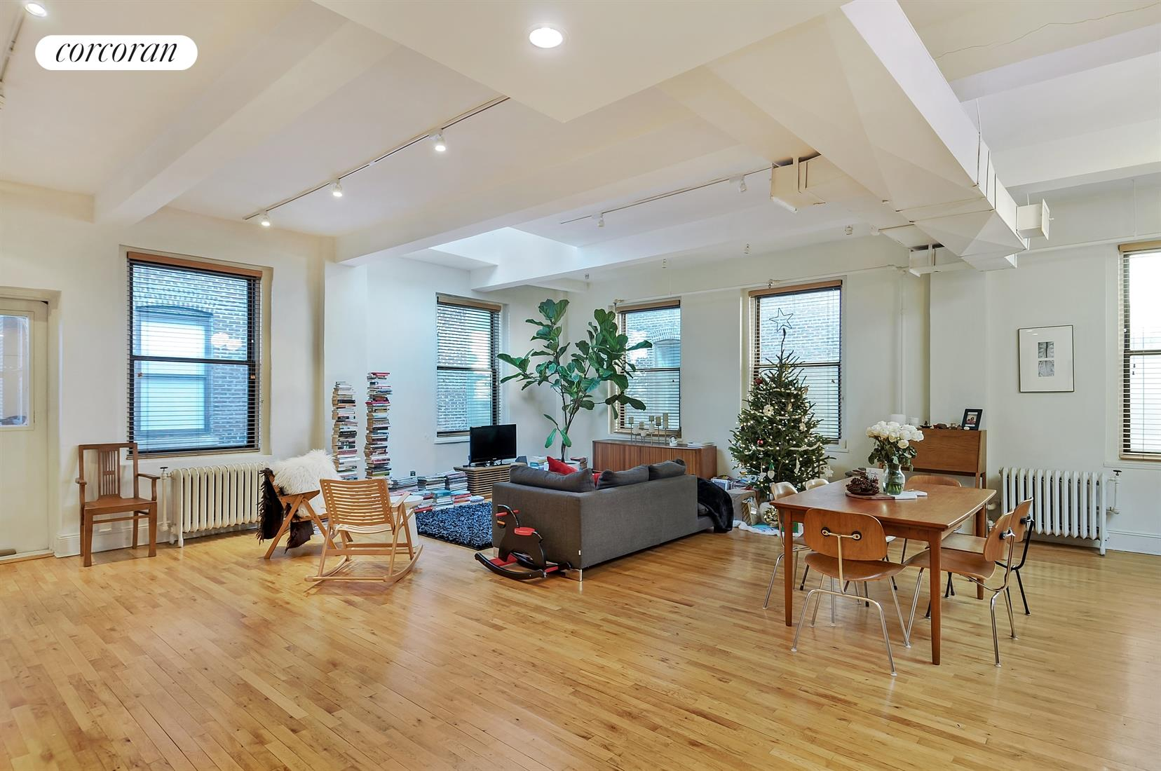 60 Court Street, 7B, Living Room