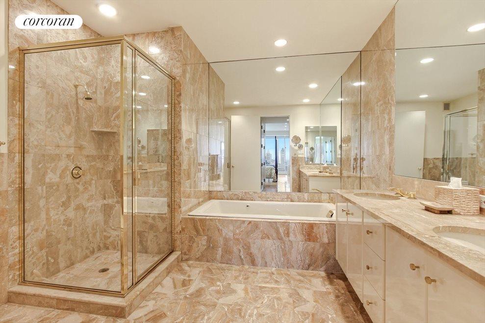 5 Piece Marble Master Bathroom