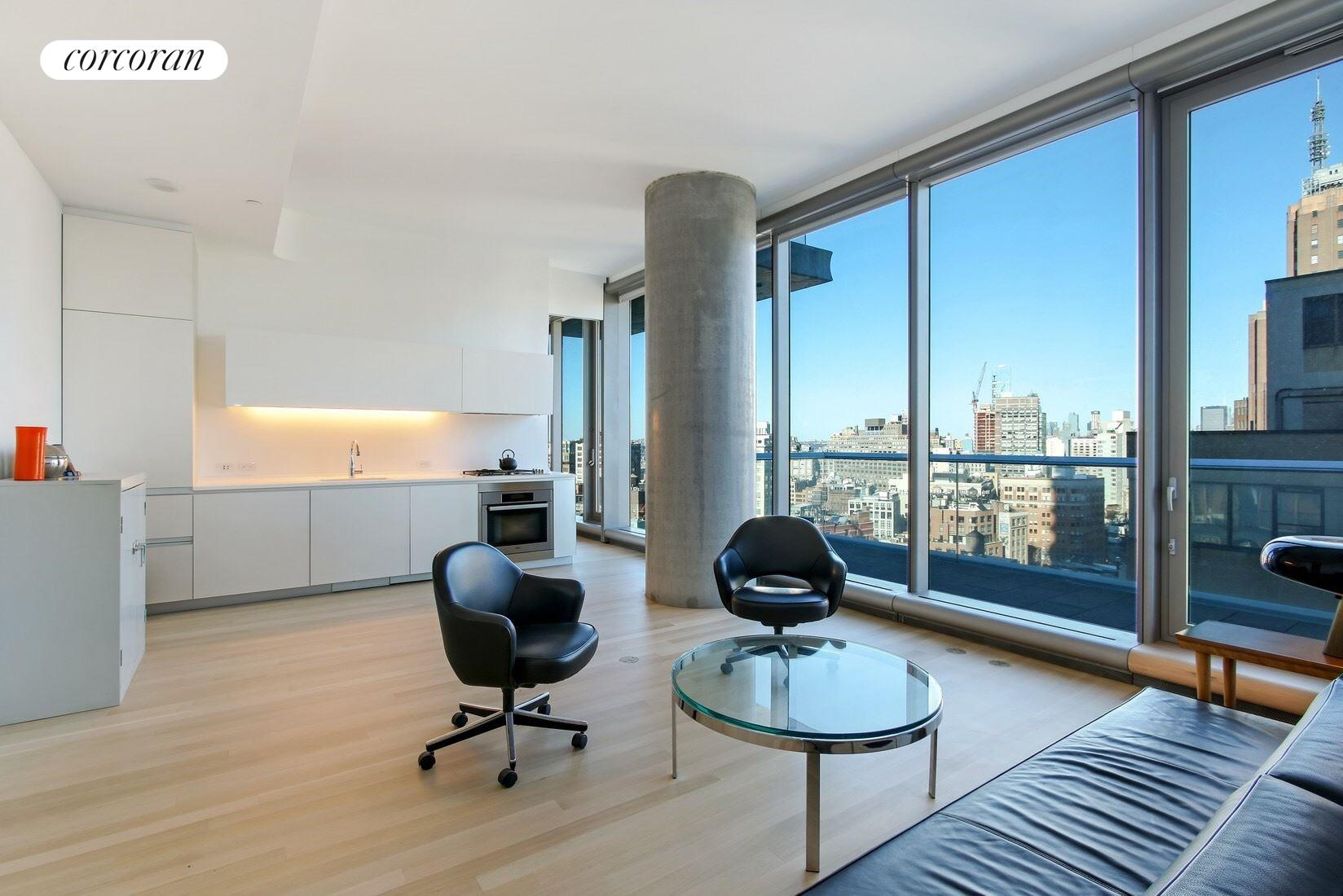 Corcoran 56 leonard st apt 17a east tribeca real for Real estate in tribeca