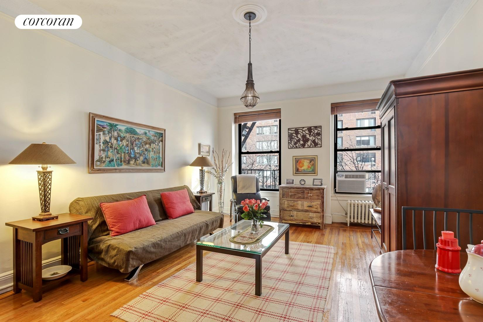 26 West 97th Street, 3A, Living Room and Vestibule