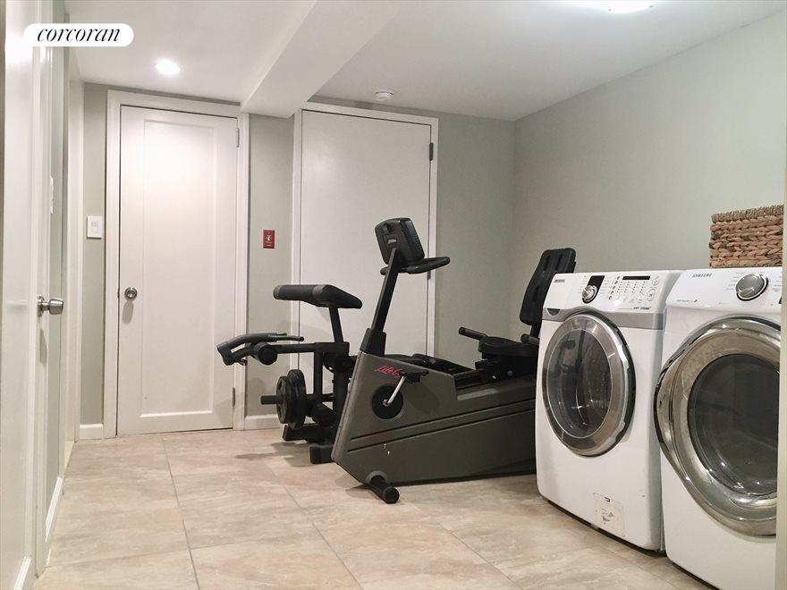 New York City Real Estate | View 1868 Hart Street, #1 | Laundry/Fitness Room